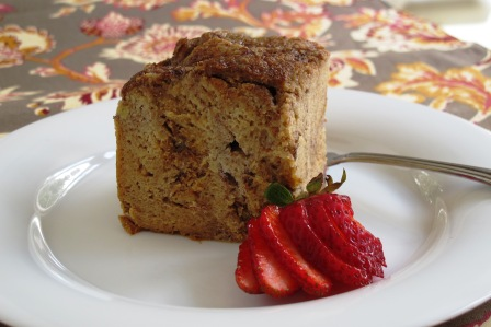 BreakfastBananaBreadPudding