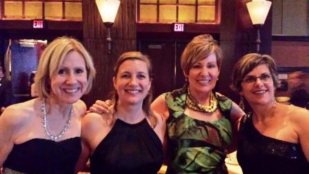 With my fellow CRA RDs: Neva Cochran, Susan Mitchell and Rosanne Rust