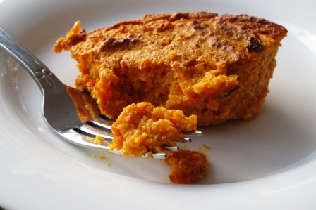 Roasted Carrot Souffle and Pompeian Grapeseed Oil Review