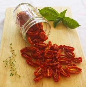 Oven Dried Grape Tomatoes