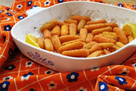 Recipe Redux - Roasted Dill Carrots - Ann Dunaway Teh