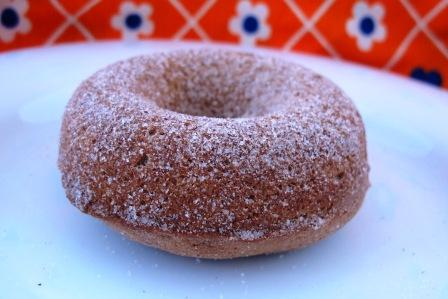 Apple Butter Maple Syrup Donut