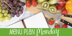 Menu Plan Monday–June 20