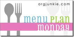 Menu Plan Monday–September 26